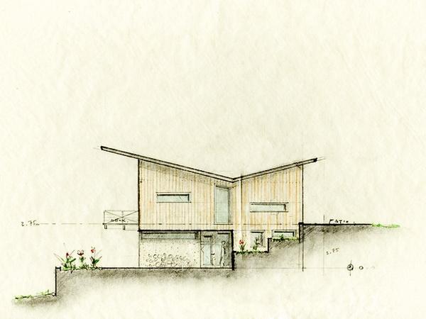 sketsa-butterfly-roof