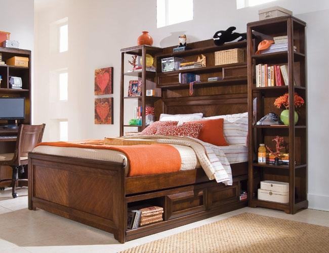 desain-tempat-tidur-dan-storagerak-buku