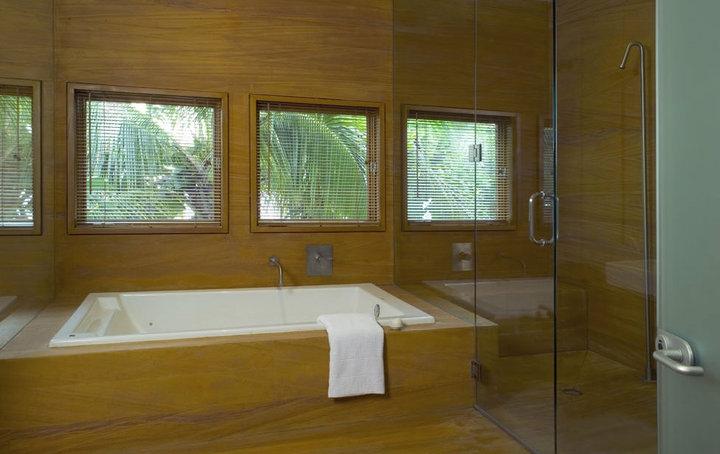 bathtub-dengan-material-kayu