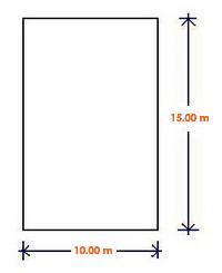 Kavling 10 m x 15 m