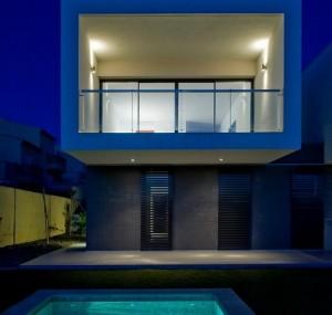 rumah box modern