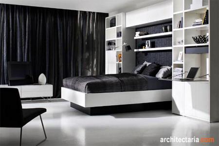 Jika kamar tidur Anda berukuran kecil, Anda bisa menambahkan cermin di ...