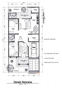 Image Result For Desain Rumah Lantai Tanah