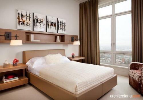 desain kamar tidur ukuran kecil pt architectaria media