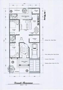 Desain Rumah Mungil on Desain Rumah Mungil Dan Artistik     Denah Layout