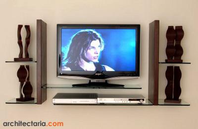 gunakan untuk meletakkan dudukan speaker diantara rak rak yang lain
