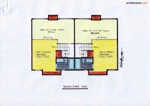 Desain Rumah 1 - Second Floor