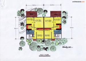 Desain Rumah 3 - First Floor