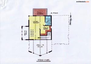 Desain Rumah 4 - Second Floor