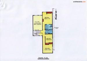 Desain Rumah 5 - Second Floor