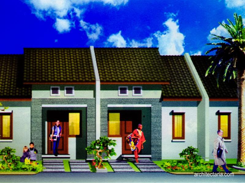 IMG_002-fasad-rumah-type-27_72 & Desain Rumah Mungil Type 27 | PT. Architectaria Media Cipta