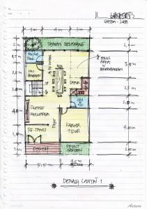 Gambar Sketsa Desain Rumah 3