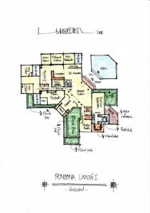 Gambar Sketsa Desain Rumah 4