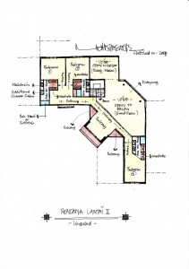 Gambar Sketsa Desain Rumah 4-2
