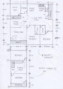 Gambar Sketsa Desain Rumah 2