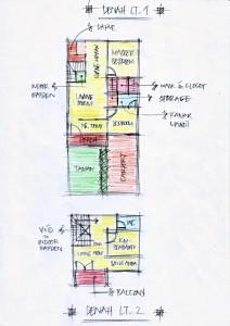 Gambar Sketsa Desain Rumah 1