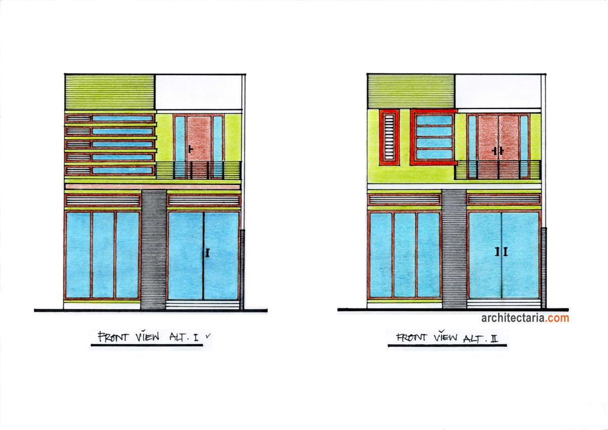 Desain RuKan Ukuran 8 M X 6 M PT Architectaria Media Cipta