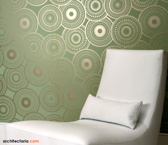 Interior Desain Tips: Dekorasi Dinding Ruangan Dengan Wallpaper