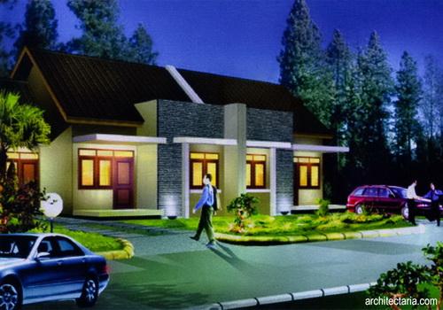 Desain Rumah Mungil Type 45 Pt Architectaria Media Cipta
