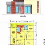 Desain Rumah Minimalis Ukuran 11 m x 11 m