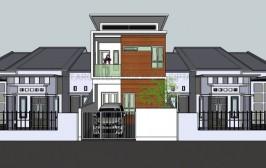 Desain Rumah Modern Tropis di Tanjung Duren – Jakarta Barat