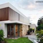 Mempercantik Dinding Eksterior Rumah Dengan Pasangan Batu Alam
