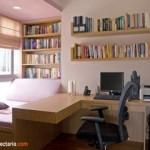 Desain Interior dan Dekorasi Ruang Kantor Berukuran Kecil