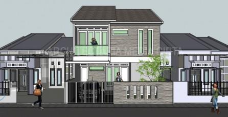 Desain Ekstensifikasi Rumah di Jagakarsa – Jakarta Selatan