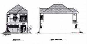 gambar rumah tampak depan kumpulan gambar rumah