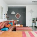 Desain Rumah Bergaya Modern Eklektik