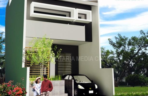 90 sqm house – exterior