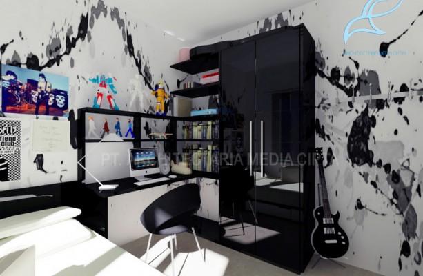 90 sqm house – kamar anak laki 4 copy
