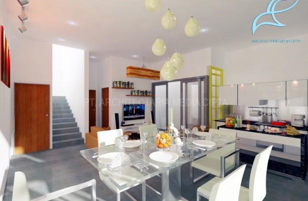 90 sqm house – ruang keluarga dan ruang makan 1 copy
