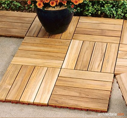 Ikea Deck Tiles For Pinterest