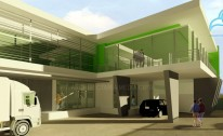 Desain Arsitektur Office dan Warehouse di Kota Harapan Indah – Bekasi