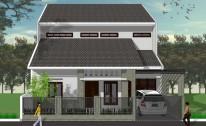 Desain Arsitektur Rumah Modern Tropis di Sentul, Bogor – Jawa Barat