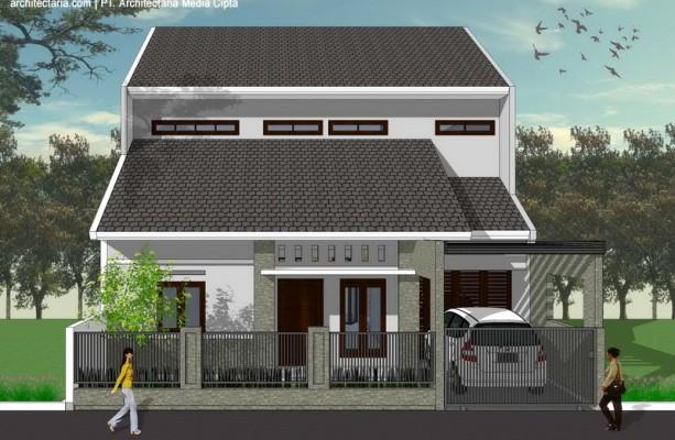 desain rumah mutiara sentul bogor_1a