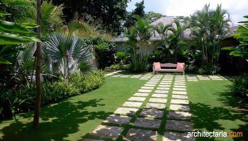 Gambar Taman Dan Vegetasi Yang Menjamin Ketersediaan Udara Bersih