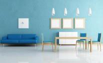Desain Interior Ruang Keluarga dan Ruang Makan