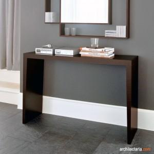 mendekorasi dan mempercantik ruang tamu dengan meja konsol