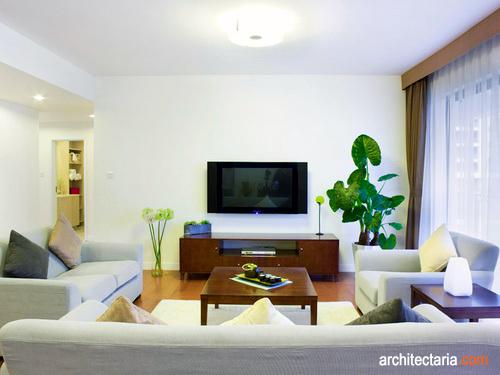 Gambar Interior Ruang Keluarga Yang Simple