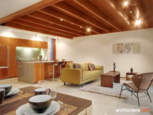 dekorasi dan desain interior untuk menciptakan ruang