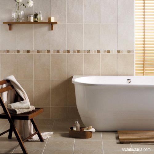 15 poin yang perlu diperhatikan sebelum melakukan renovasi for Most popular bathroom tile designs