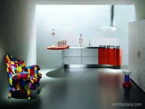 Melalui pemilihan warna cat dinding dekoratif pada interior ruangan