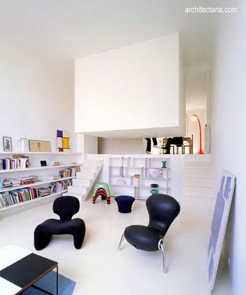 Mensiasati apartemen yang berukuran kecil pt for Desain apartemen studio 21m