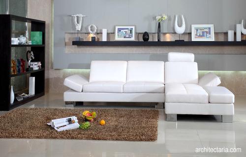 desain sofa ruang keluarga