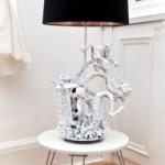 Desain Lampu Meja Unik Dari Evil Robot Design