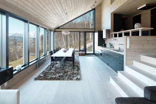 Konsep Rumah Skandinavia yang Ramah Lingkungan – Panel Dinding yang ...