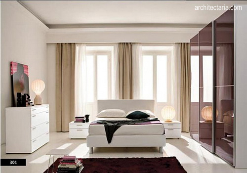 bentuk kamar tidur sederhana