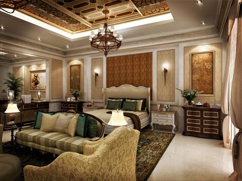 Desain Interior Ruangan Ala Timur Tengah – Skema Warna Ruangan